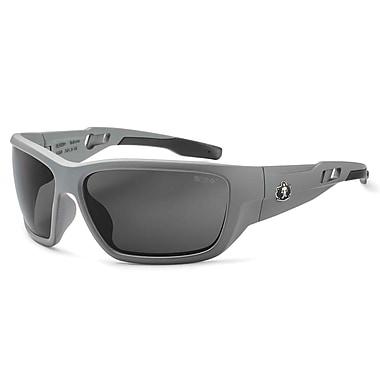 Skullerz BALDR Safety Glasses, Smoke Lens, Matte Gray (57130)