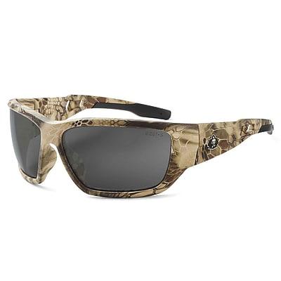 Skullerz BALDR-AFHI Safety Glasses, Anti-Fog Smoke Lens, Kryptek Highlander (57333)