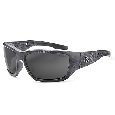 Skullerz BALDR-TY Safety Glasses, Smoke Lens, Kryptek Typhon (57530)