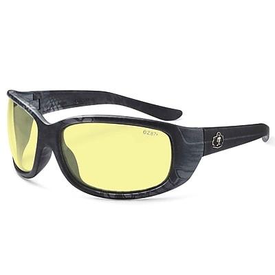 Skullerz ERDA-TY Safety Glasses, Yellow Lens, Kryptek Typhon (58550)