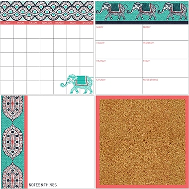 WallPops Indra Organization Kit 26 x 26 Multi-Color (WPE1952)