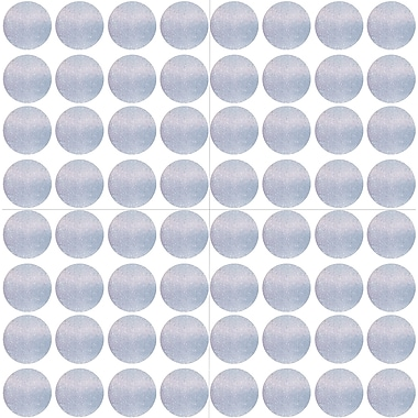 WallPops Holographic Confetti Dot Decals Set of 128 48 x 26 Metallic (TWPD2036)