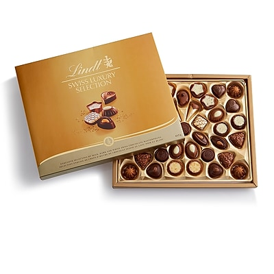 Lindt Swiss Luxury Chocolate Collection, 40 Pieces/Each (438870A)