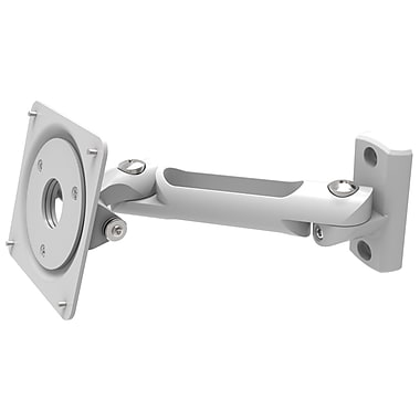 CompuLocks Swing Arm VESA Mount Security Arm, White (827W)