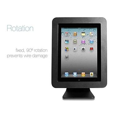 CompuLocks iPad Enclosure Kiosk, Black (AIO-B)