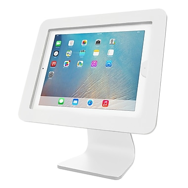 CompuLocks iPad Enclosure Kiosk, White (AIO-W)