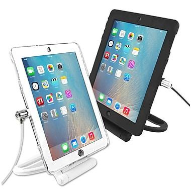 CompuLocks – Étui de sécurité verrouillable pour iPad Air 2 et support pivotant, blanc (IPADAIRRSWB)