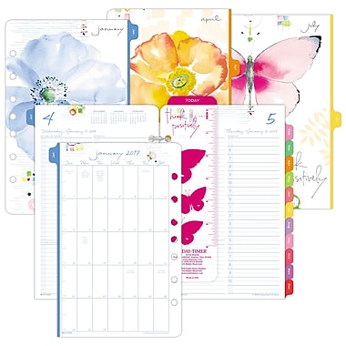 DayTimer Kathy Davis Page Per Day Appointment BookPlanner