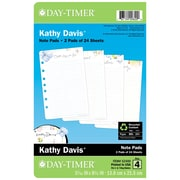 Day-Timer® Kathy Davis Notepad Refill, 5-1/2 x 8-1/2 (52400)