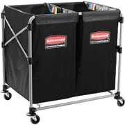 "Rubbermaid Collapsible X-Cart, Overall Height: 34"", Overall Depth: 36"" (1881781)"