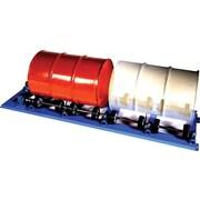 Morse – Mélangeur rotatif stationnaire pour deux barils (2-5154-3)