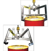 Morse Automatic Vertical Drum Lifters, Frame Material: Stainless Steel, Drum Capacity: 55 Us Gal. (45 Imperial Gal.) (90-SS)