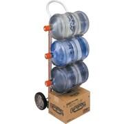 Magliner – Diable en aluminium pour 5 bouteilles, Matériau des roues : Caoutchouc moulé (HBK111HM1)
