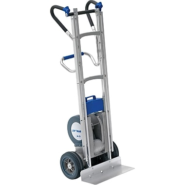 Wesco Heavy-Duty Aluminum Stair Climbing Hand Trucks, Frame Material: Steel, Handle Type: Universal (274100)