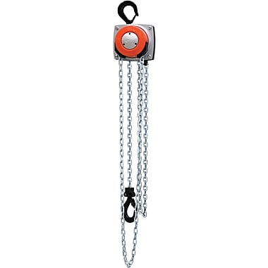 Cm Industries Hurricane 360 degree Chain Hoists, Lift: 15', Chain Material: Steel, Capacity: 2000 Lbs. (1 Tons) (5630A)