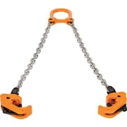 Chain Drum Lifter Clamps Included Working Load Limit: 2000 Lbs./907 Kg Jaw Opening: 21/32""