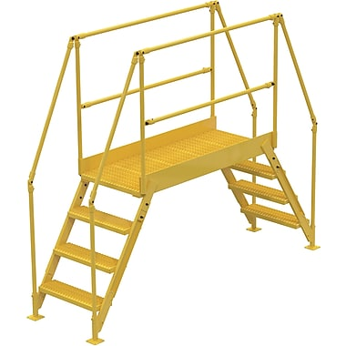 Vestil Crossover Ladder, Platform Height: 40