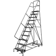 "Tri-Arc Manufacturing All Directional Rolling Ladder, No. of Steps: 11, Platform Height: 110"" (KDED111246)"
