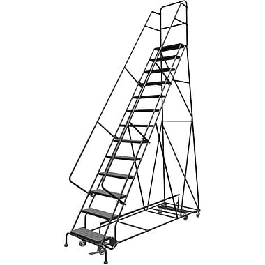 Tri-Arc Manufacturing All Directional Rolling Ladder, No. of Steps: 13, Platform Height: 130