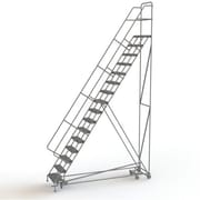 "Tri-Arc Manufacturing All Directional Rolling Ladder, No. of Steps: 16, Platform Height: 160"" (KDED116242)"