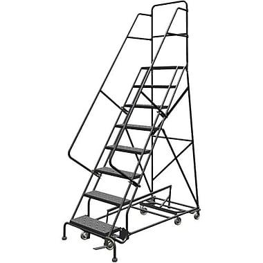 Tri-Arc Manufacturing – Échelle roulante multidirectionnelle, nbre de marches : 8, hauteur de la plateforme : 80 po (KDED108246)