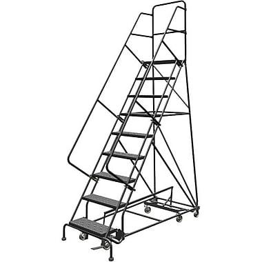 Tri-Arc Manufacturing – Échelle roulante multidirectionnelle, nbre de marches : 9, hauteur de la plateforme : 90 po (KDED109246)