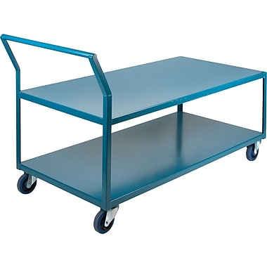 Kleton Heavy-Duty Low Profile Shop Carts, Capacity: 1200 Lbs., Overall Height: 40