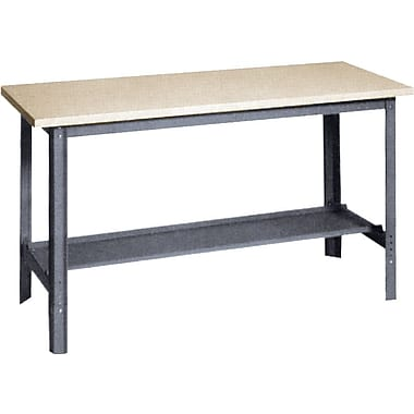 Edsal Economy Grade Open Workbenches, Configuration: Shelf, Capacity: 2400 Lbs., Width: 72