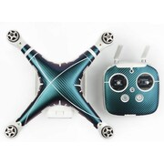 PGY PVC Skin Decal Stickers for DJI Phantom 3 Drone & Remote, Chameleon Fiber (PGY10P3S-M12)
