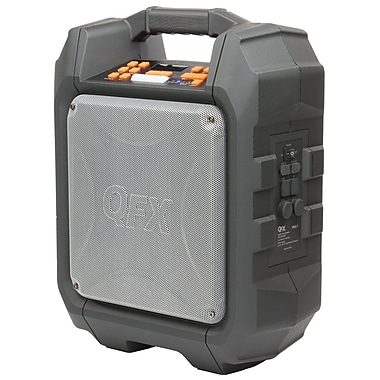 QFX Rugged Portable Tailgate Speaker (PBX-7)