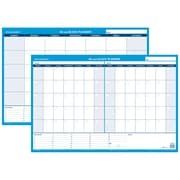 "2017 AT-A-GLANCE® 30/60-Day Undated Horizontal Erasable Wall Calendar, Reversible, 36"" x 24"" (PM233P-28)"