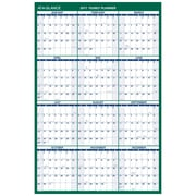 "2017 AT-A-GLANCE® Vertical Erasable Wall Calendar, 12 Months, Reversible for Notes and Planning Space, 24"" x 36"" (PM210P-28-17)"