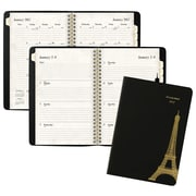 "2017 AT-A-GLANCE® Paris Weekly/Monthly Planner, 13 Months, 5 1/2"" x 8 1/2"", Black (579-200-17)"