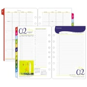 "2017 Franklin Covey® ""Her Point of View"" Two Page Per Day Planner Refill, 5 1/2"" x 8 1/2"" (37481-17)"