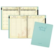 "2017 AT-A-GLANCE® Poetica Weekly/Monthly Planner, 13 Months, 8 1/2"" x 11"", Green (772-905-17)"