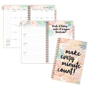"2017 AT-A-GLANCE® B-Positive Weekly/Monthly Planner, 12 Months, 4 7/8"" x 8"", Multicolor (187-200-17)"