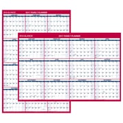 "2017 AT-A-GLANCE® Vertical/Horizontal Erasable Wall Calendar, 12 Months, Reversible, 48"" x 32"" (PM326P-28-17)"