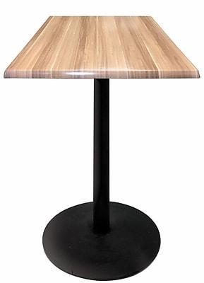 Holland Bar Stool Bar Table; Natural