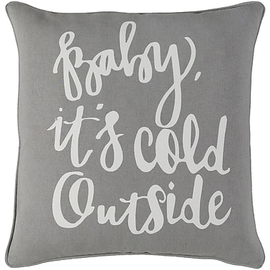 Artistic Weavers Holiday Winter Cotton Throw Pillow