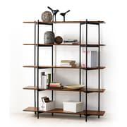 Greenington Studio Metal 66'' Accent Shelves Bookcase