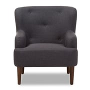 Wholesale Interiors Aria Club Chair; Dark Gray