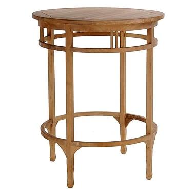 ChicTeak Orleans Bar Table; 43'' H x 32'' W