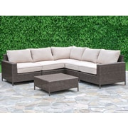 Laurel Foundry Modern Farmhouse Sharon 6 Piece Deep Seating Group w/ Cushions