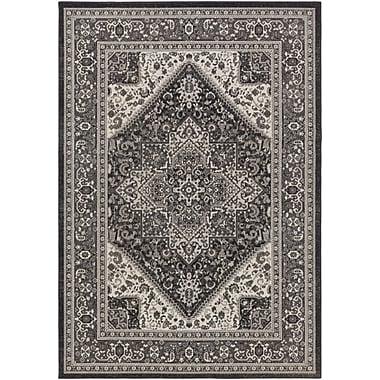 Artistic Weavers Roosevelt Wheeler Charcoal / Gray Area Rug; 2'2'' x 3'