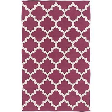 Artistic Weavers Vogue Everly Raspberry / Ivory Area Rug; 8' x 10'