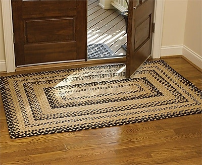 ParkDesignsSplitP Beige Area Rug; Rectangle 8' x 10'