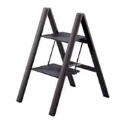 Slim Step Urbanity Step Ladder w/ 225 lb. Load Capacity; Black