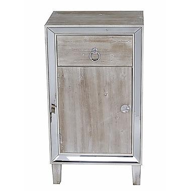 Heather Ann Avery Cabinet; White Wash