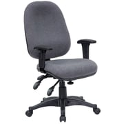 Offex Mid-Back Desk Chair; Gray