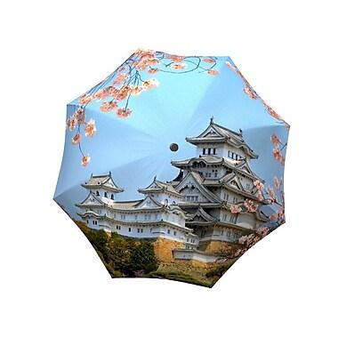 La Bella Umbrella – Parapluie en aluminium/fibre de verre à ouverture et fermeture manuelle, motif du Japon